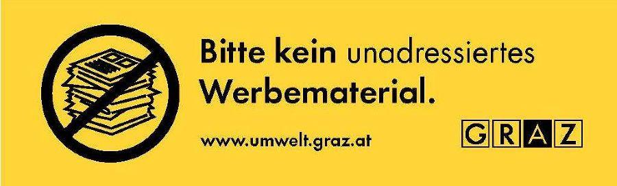 Werbung Nein Danke Umweltserver Der Stadt Graz